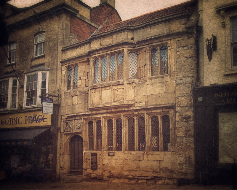 The Tribunal on High Street, Glastonbury, 15th century, now a tourist center and museum