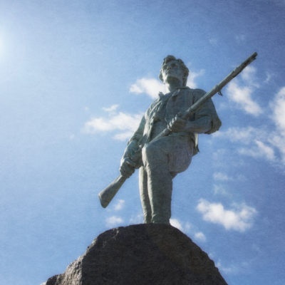 The Lexington Minuteman: Would he have come to the tea party?