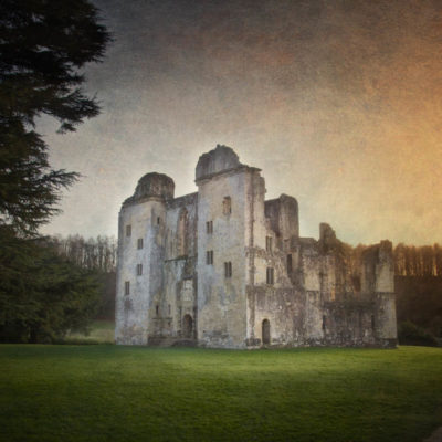 Old Wardour Castle … a splendidly haunted ruin in the British countryside
