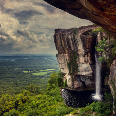 Why do lovers leap? Native American myths and a lookout from Rock City, high above Chattanooga, Tennessee