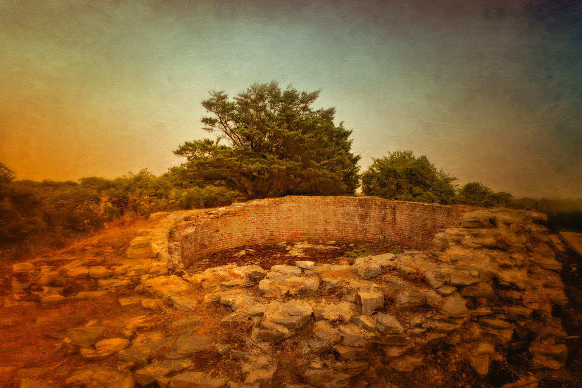 Foundations of the First Lighthouse,