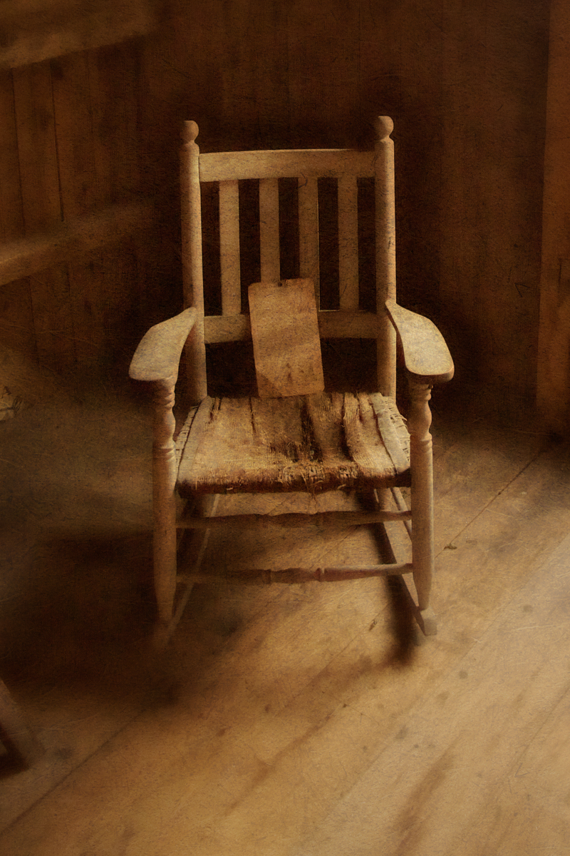 Rocking Chair at the Stony Brook Grist Mill.