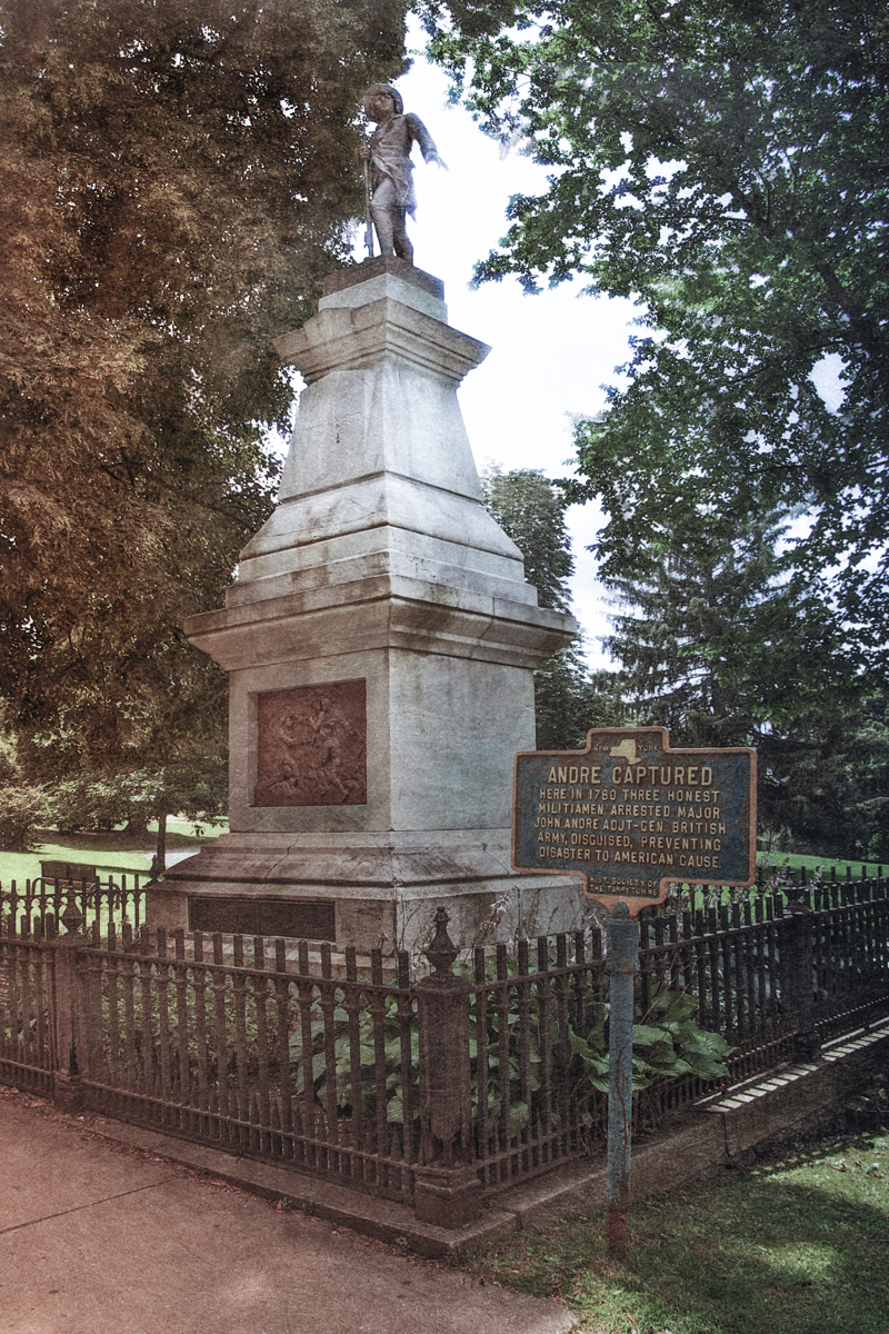 Site of the capture and memorial to Major Andre, Tarrytown, New York