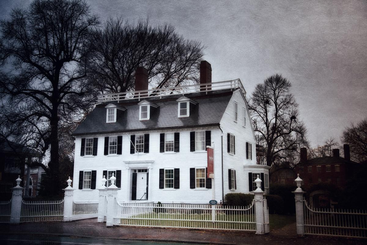 The Ropes Mansion, Salem, Massachusetts.