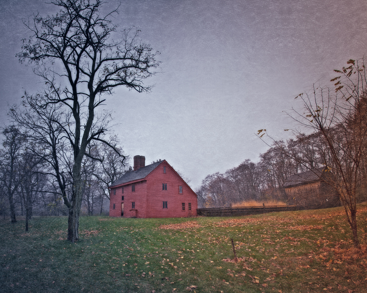 The Rebecca Nurse Homestead, Danvers, Massachusetts.
