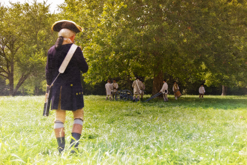 Living history at the 2010 Spirit of Vincennes Rendezvous