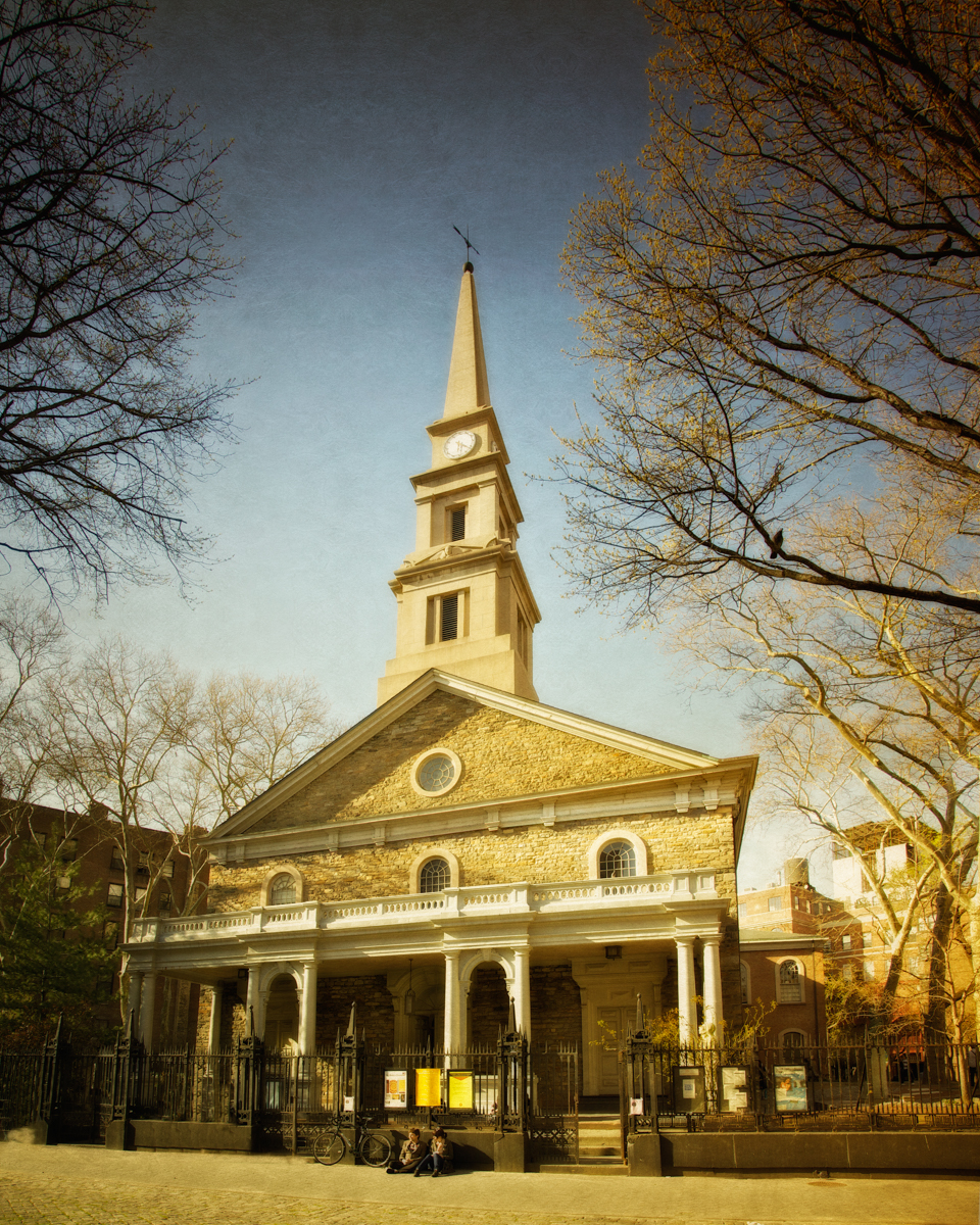 St. Mark's Church in-the-Bowery, Manhattan, New York City, New York