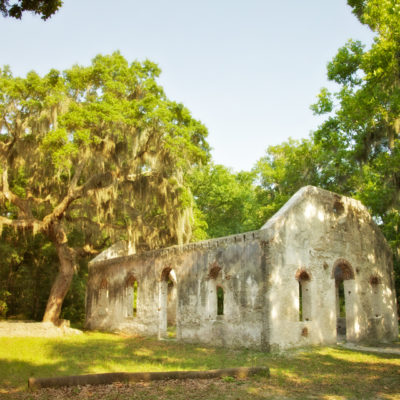 The ghosts of St. Helena's chapel of ease and Land's End light – true hauntings from South Carolina's sea islands