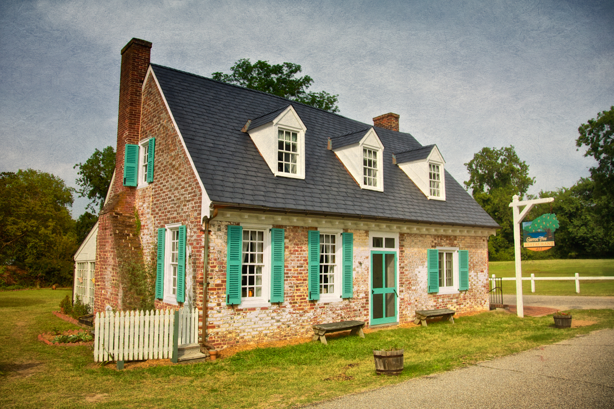The Cole Diggs house, circa 1720 is believed to be haunted by a pair of colonial era ghosts