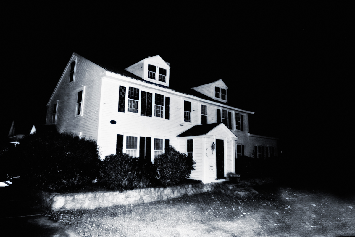 The Barnstable House, also known as the House of Eleven Spirits, Barnstable, MA.
