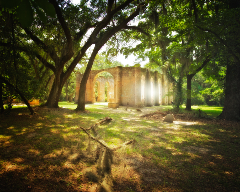 Old Sheldon Church ruins: A quiet retreat in the South Carolina lowcountry