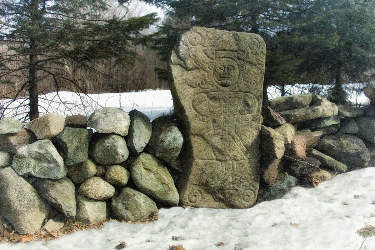 The Witch's Stone, Byfield, MA