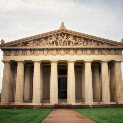 Exploring ancient Greece in Nashville, TN: The Parthenon