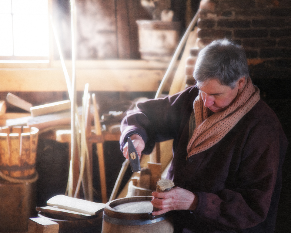 Daily Life of the 19th Century: The Cooper Shop at Old Sturbridge Village