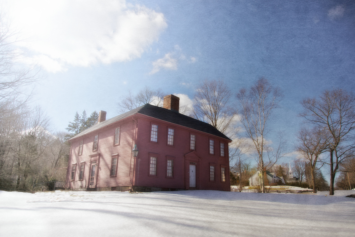 Munroe Tavern, c. 1695. Lexington, Middlesex County, Massachusetts.