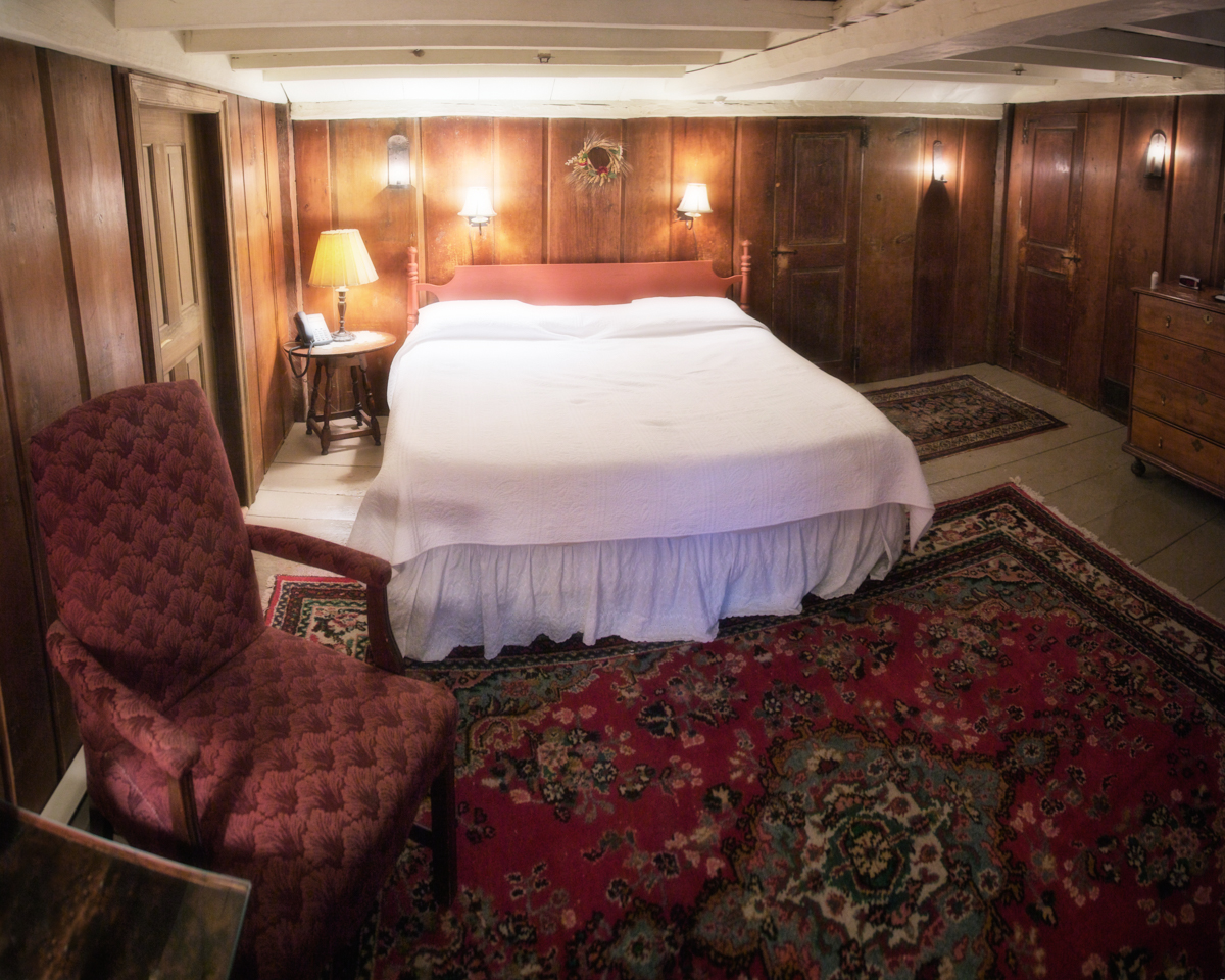 Jerusha's bedroom, Room 9 in Longfellow's Wayside Inn