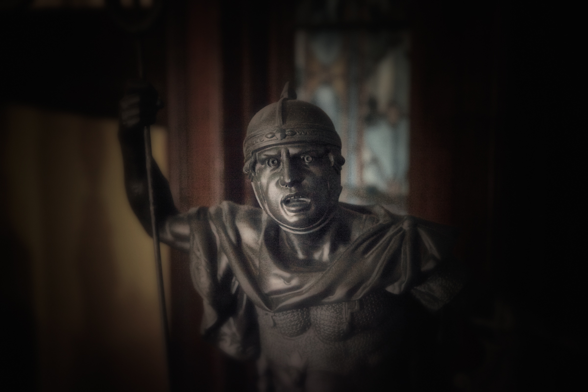 Casting of Roman Soldier, Rockcliffe Mansion