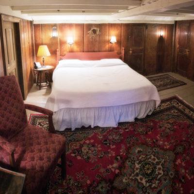 Jerusha Howe's bedroom at Longfellow's Wayside Inn