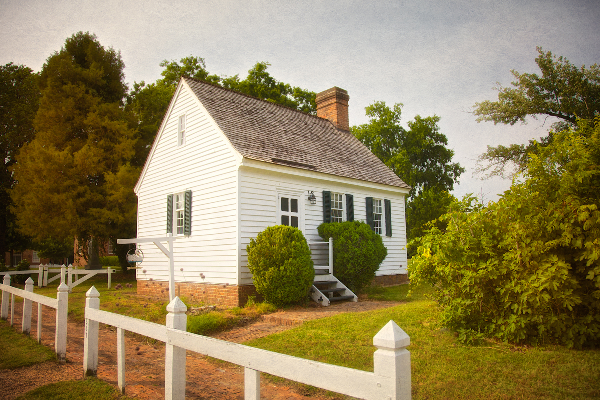 The Old Medical Shop in historic Yorktown, Virginia