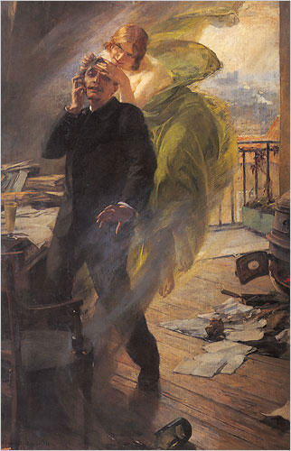 The Green Muse by Albert Magian, 1895