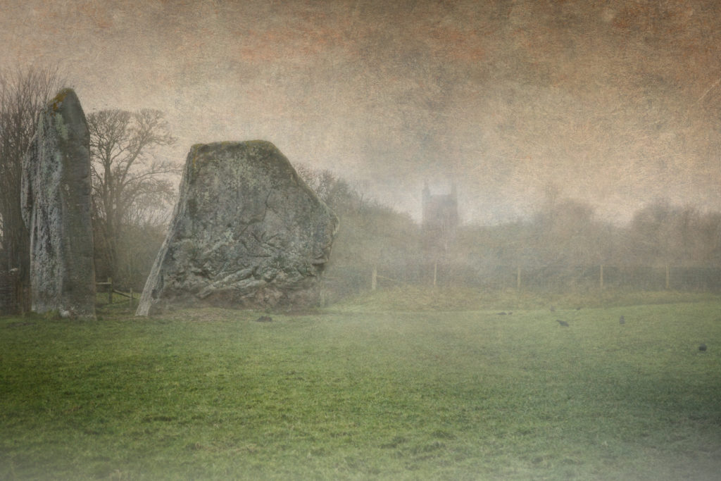 Confronting the ghosts of my soul and of the dead in Avebury henge, and Churchyard Cottage