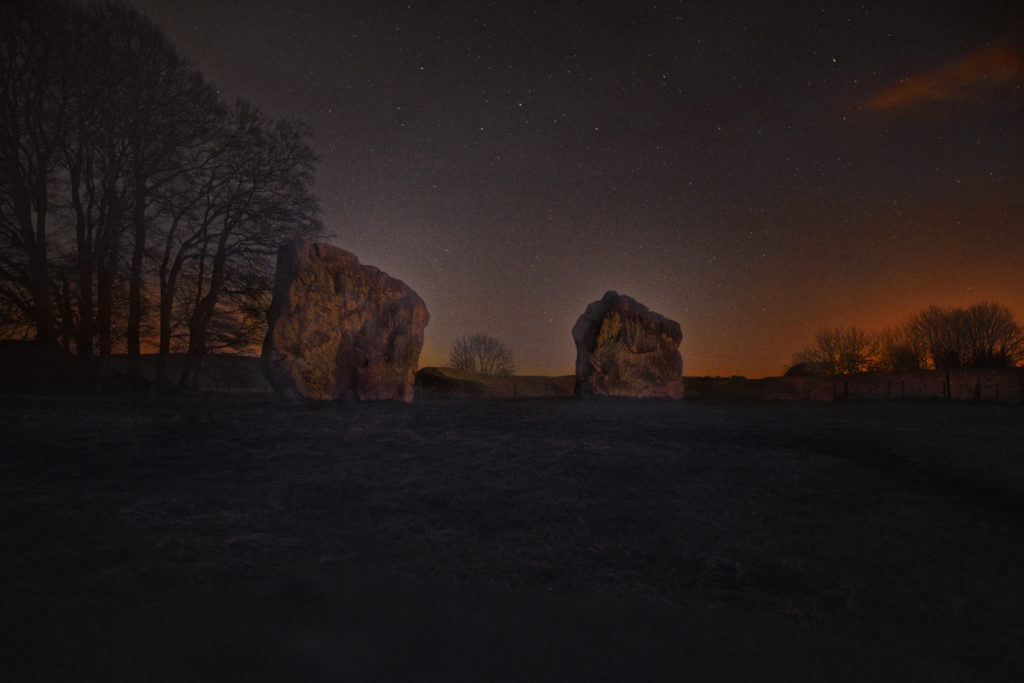 Ghost stories and supernatural occurrences from Avebury circle and henge