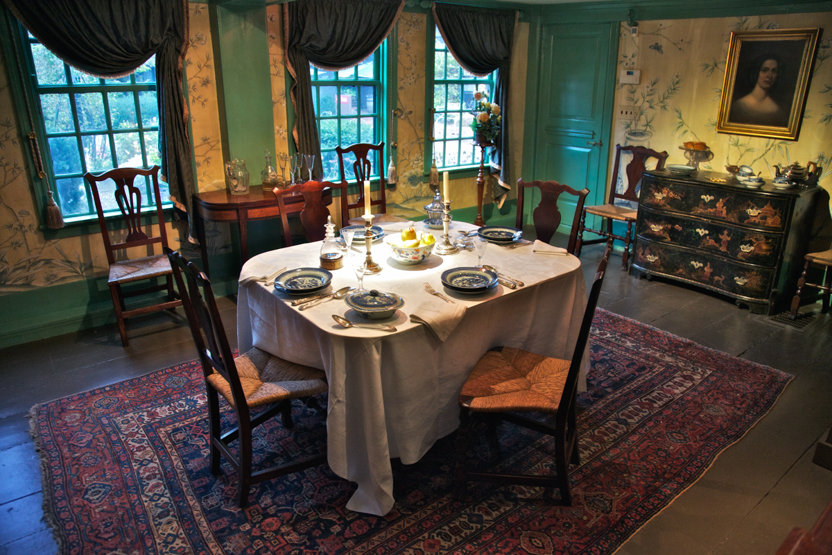 Dining Room at The House of Seven Gables, part of Captain Turner's original structure