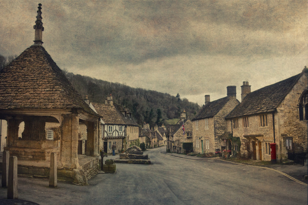 Traveling back in time to explore the hauntings in Parsonage Woods, and the ghosts of Castle Combe