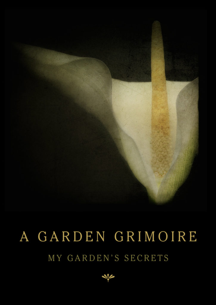 A Peace Lily Garden Grimoire – Spiral bound garden journal for all your witch's garden experiments
