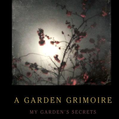 Cherry Blossoms Garden Grimoire – Spiral bound garden journal for all your witch's garden experiments