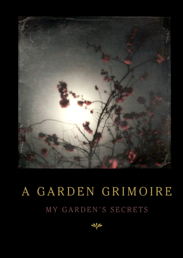 Cherry Blossoms Garden Grimoire – Spiral bound garden journal for all your witch's garden experiments