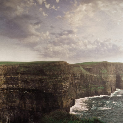 One of Ireland's most popular postcard views, but to the initiated, the Cliffs of Insanity
