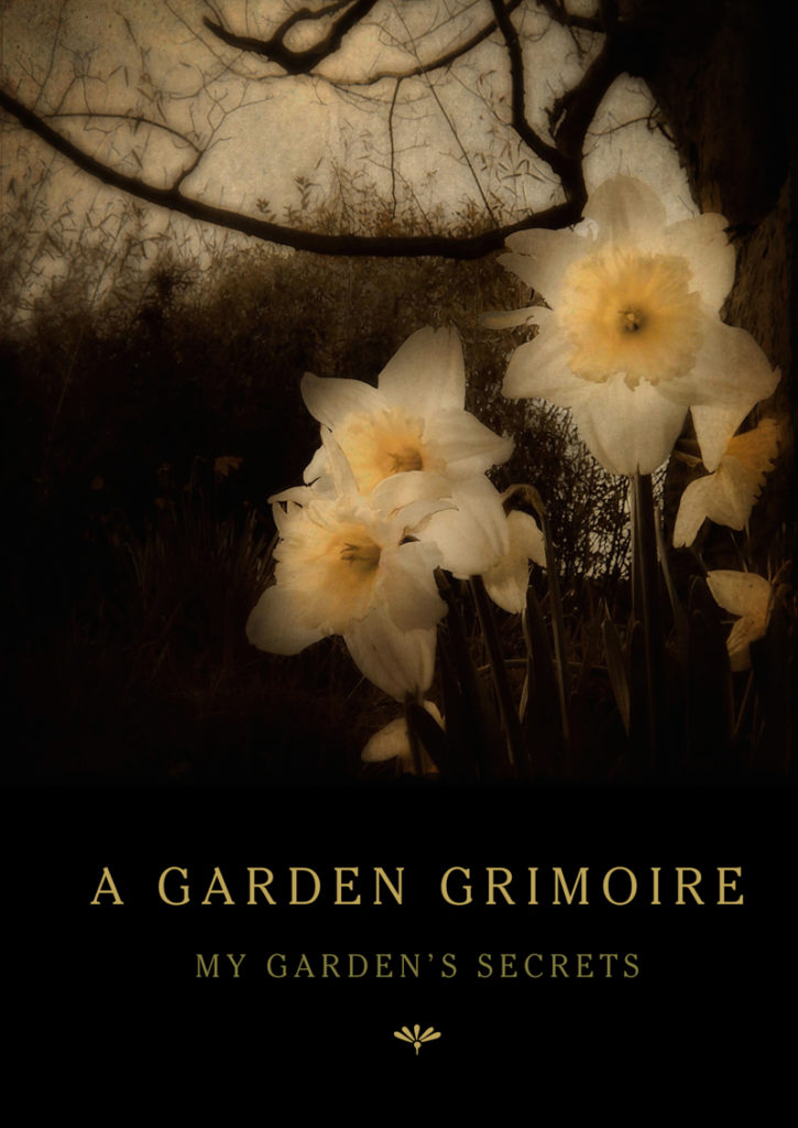 Daffodils Garden Grimoire – Spiral bound garden journal for all your witch's garden experiments