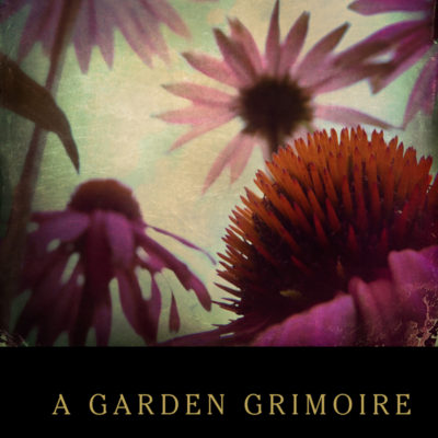 Echinacea Garden Grimoire – Spiral bound garden journal for all your witch's garden experiments