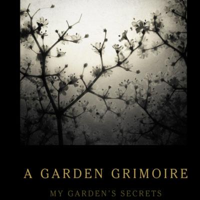 Elderflowers Garden Grimoire – Spiral bound garden journal for all your witch's garden experiments