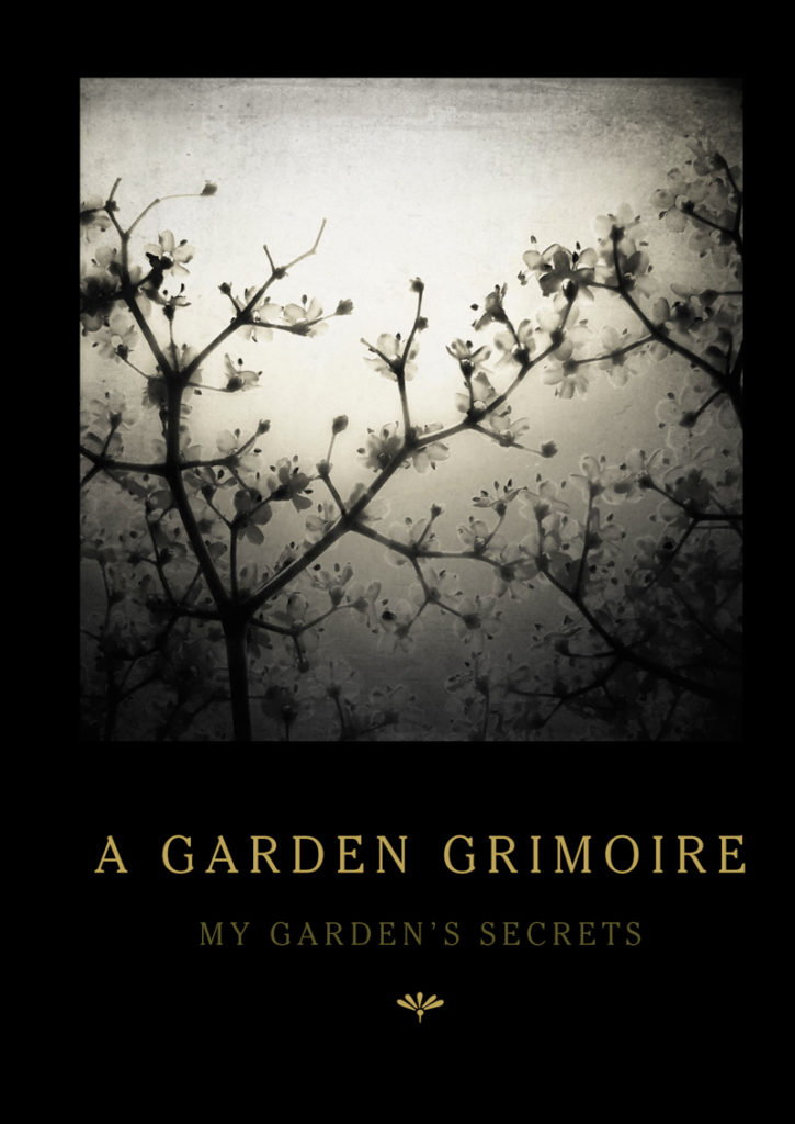 Elderflowers Garden Grimoire – Spiral bound garden journal for all your witch's garden experiments