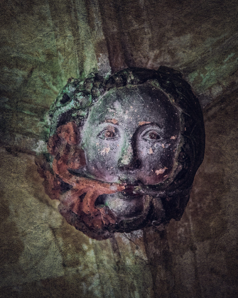 Finding the green woman of Lacock Abbey