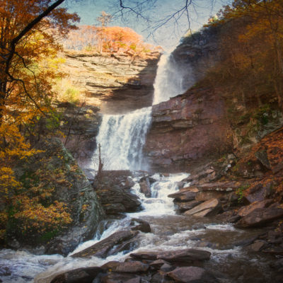 Kaaterskill Falls in Autumn … Oh you pretty things