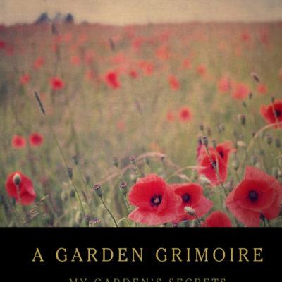 Poppy Field Garden Grimoire – Spiral bound garden journal for all your witch's garden experiments