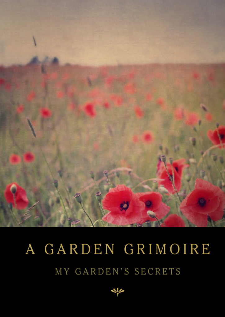 Poppy Field Garden Grimoire – Spiral bound garden journal for all your witch's garden experiments