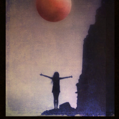 Blood Moon – Blank hard cover journal for your Book of Shadows, for all your witch's secrets