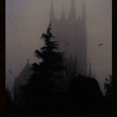 The Cathedral – Blank hard cover journal for your Book of Shadows, for all your witch's secrets
