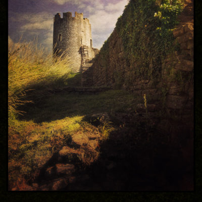 Farleigh Hungerford Castle – Blank hard cover journal for your Book of Shadows, for all your witch's secrets