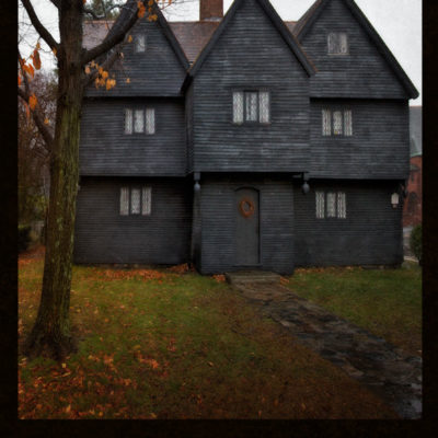 The Witch House – Blank hard cover journal for your Book of Shadows, for all your witch's secrets