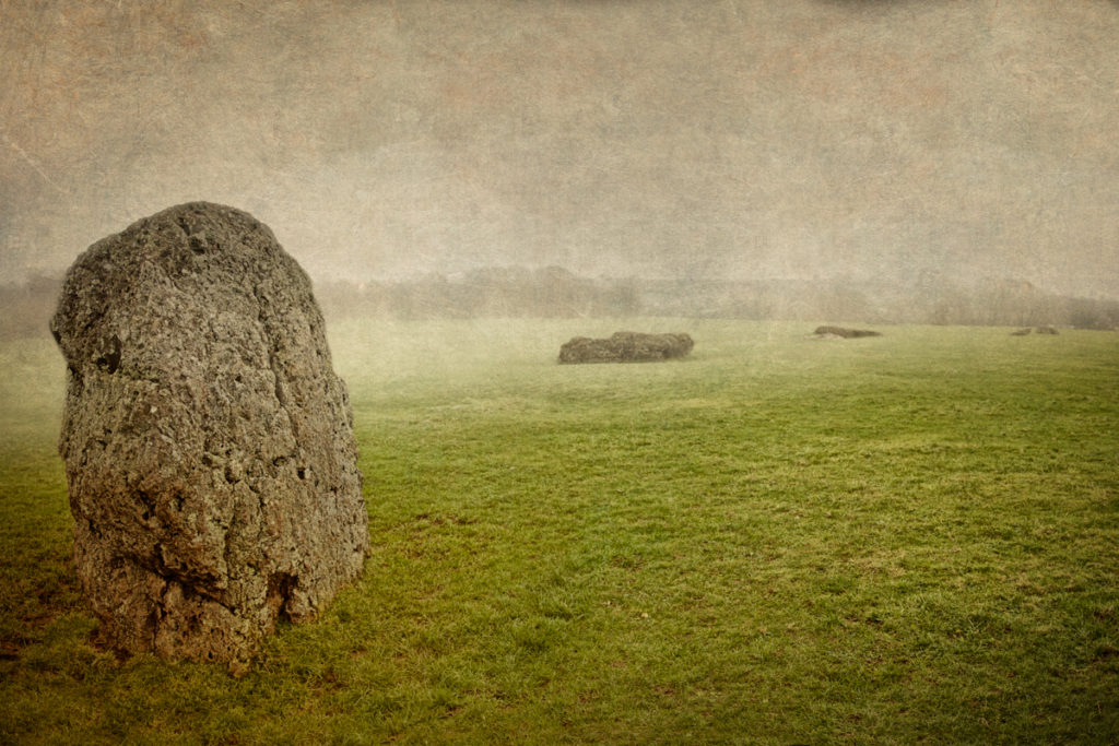 A megalithic darkness descending on Stanton Drew stone circles and cove