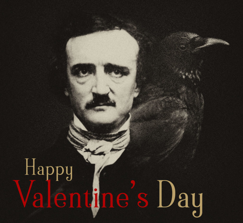 On Valentine's Day: Surviving a broken heart, finding hope in Edgar A. Poe and Annabel Lee's metaphoric necrophilia