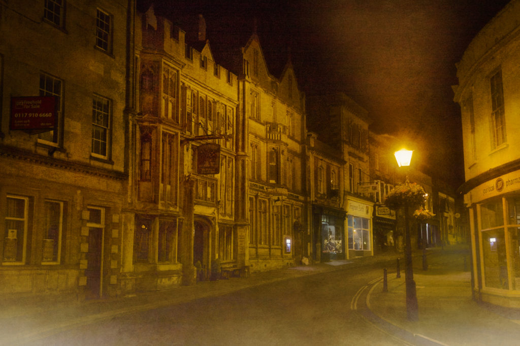 Real ghost stories George and Pilgrim Hotel Glastonbury