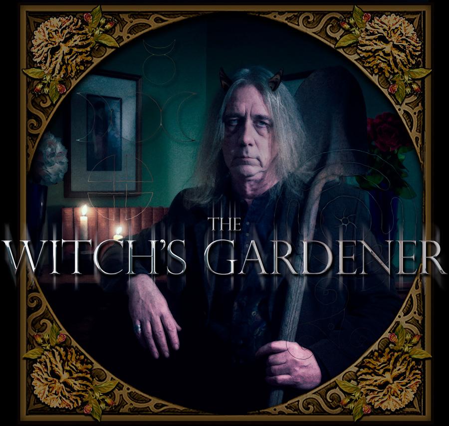 Witch's garden grimoire: Gardening journal with photos, ideas