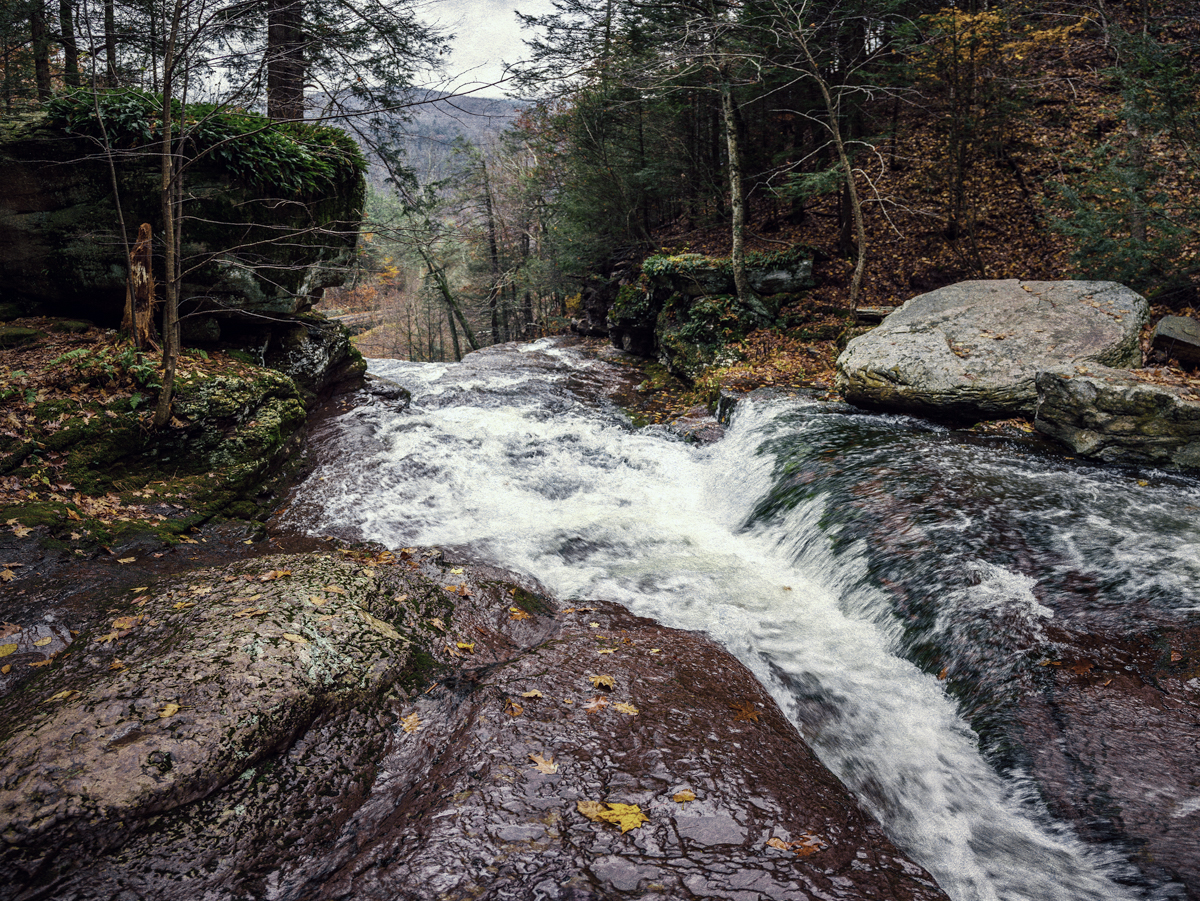 The waters below Kaaterskill falls