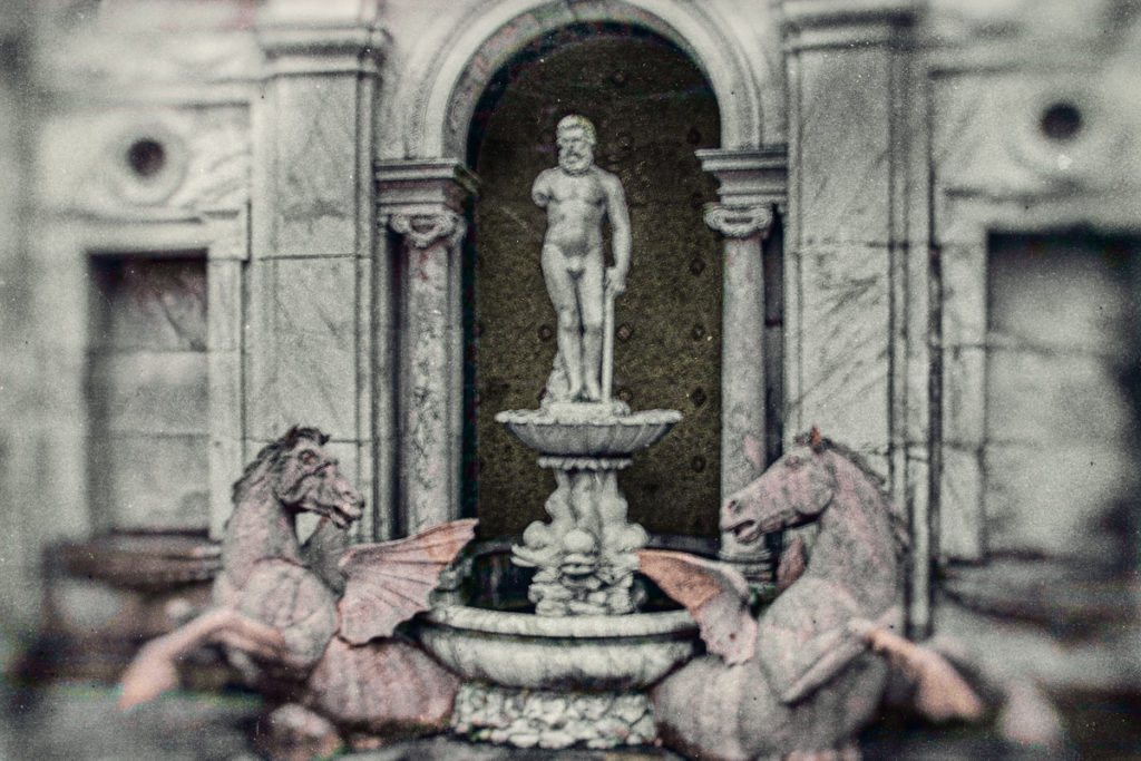Neptune Fountain at Winfield Hall